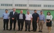 热烈欢迎美国QSA公司代表来我公司进行商务洽谈